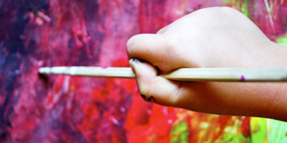 hand_child_painting w brush for web